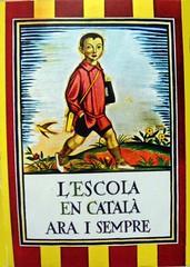 A l'escola en català, ara i sempre.
