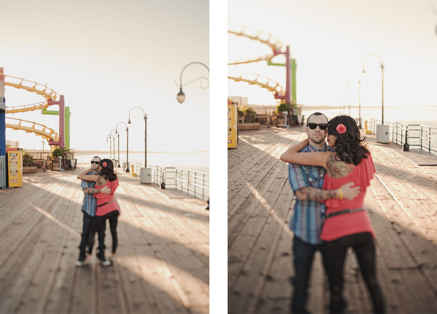 Santa Monica Pier Engagement photos, Los Angeles Wedding Photographer 007