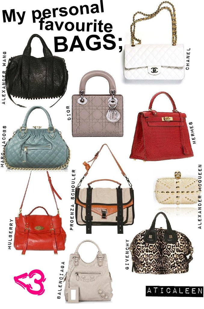 aticaleen fav bag lovee
