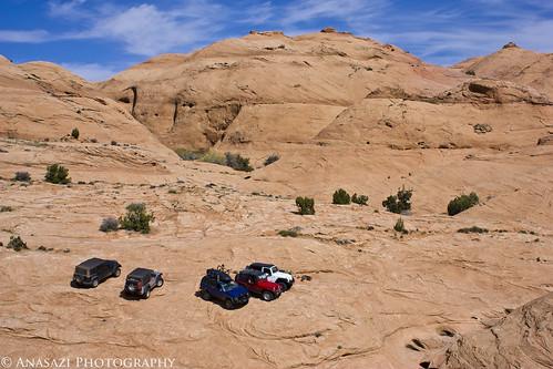 Slickrock Parking Lot