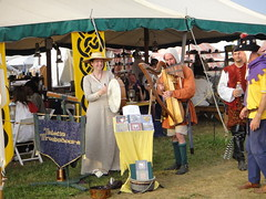 April & Mark at Pennsic 2010