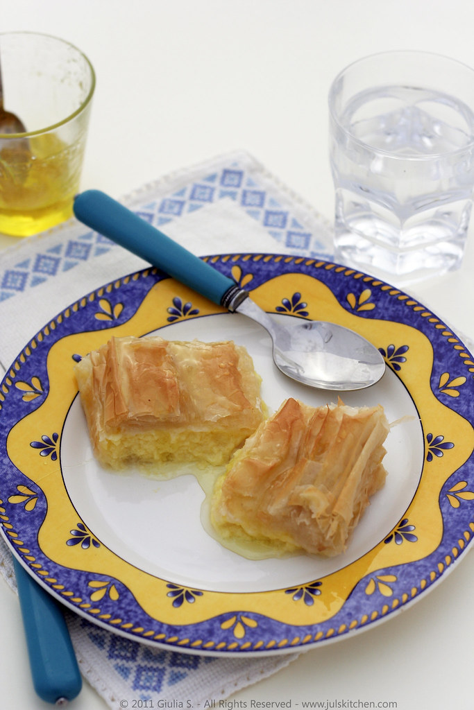 Galaktobouriko GALAKTOBOUREKO recipe
