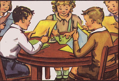 We make things at school (katinthecupboard) Tags: school crafts childrens readers schoolbooks childrens vintage booksvintage illustrationsvintage textbooksvintage