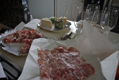 plating the coppa