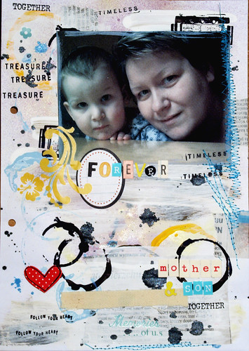 Envelope album - week #1 -{mother&son}