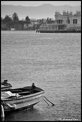 Mondello in bianco&nero (Barbara Fi@re) Tags: nikon mare barche charleston sicilia mondello