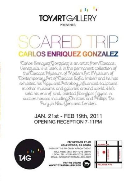 Carlos Enriquez Gonzalez Sacred Trip Show @ TAG