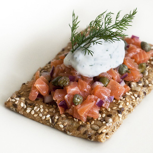 Tartar-tine Tuesday: Smoked Salmon Tartines