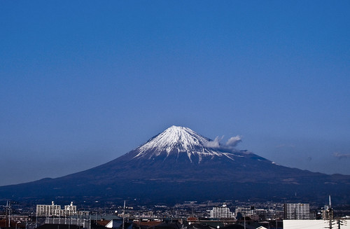Mt.Fuji from Shinkansen