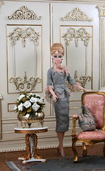 Tribute Silkstone at The Palace 2[Explored] (think_pink1265) Tags: barbie silkstonebarbie dolldiorama fashiondolldiorama tributesilkstone lapofluxuryfashionroyalty