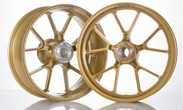 Marchesini Forged Aluminum Wheels