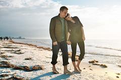 Aaron & Amanda (Evan Dell Photography) Tags: wedding light sunset l