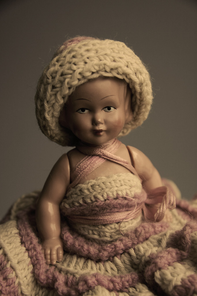 doll sepia
