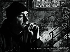 Sitting Waiting Wishing (#150 Project Music Vs. Photo)