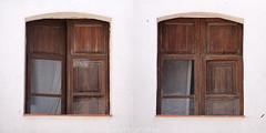 """2"" (Domonte Design) Tags: windows 2 two square mosaic fenster mosaico ventanas dos ramen deux due vinduer fenetres quadrat ventas carre cuadrado finestres dous leihoak ferestre xanelas vilafamés fiestras cadrado domonte"