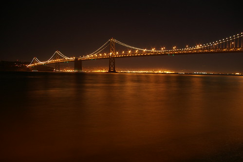 Bay Bridge from Mainland