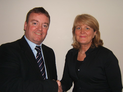 Marl councillors Mike Priestley and Sue Shotter