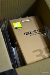 Unboxing Nikon Lens - DSC_6050