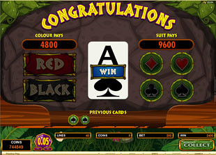 free Tiger's Eye gamble game