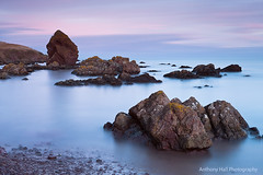 The remains of the day (Azzmataz) Tags: scotland coldingham sunset stack big stopper 10 stop long exposure anthonyhallphotography