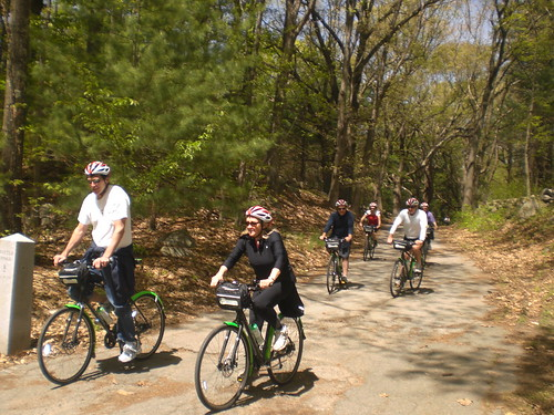 Riding the Mintuteman Bikeway bike trail