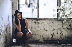 (Junior Knupp) Tags: girl 50mm18g nikon abandoned obscure portrait