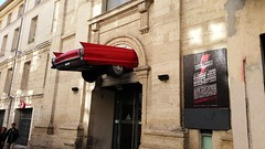 Cadillac  rockstore  montpellier (srouve78) Tags: cadillac rokstore montpellier car voiture rouge red