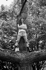 Julia - Portrait session (The Photo Life) Tags: 35mm 50mm 100 adoxchs100 bw blackwhite chs100 fashion frontier frontiersp3000 kodak kodakxtol kodakxtol11 leica leicam6 m6 mfl meinfilmlab mensch noritsu outdoor people photoshoot regensburg sp3000 shooting summicron summicron50mmf20 tempepark umwelt urbanoutfitters xtol xtol11 adox analog blackandwhite boots female film filmisnotded filmphotography gil hotpants ilovefilm ishootfilm legs light monochrom photography rangefinder scan sexy shirt summer sun tree woman wwwmeinfilmlabde