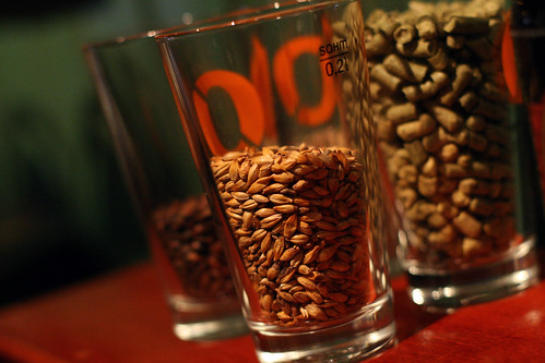 Ingrediensene i øl; Malt og Humle