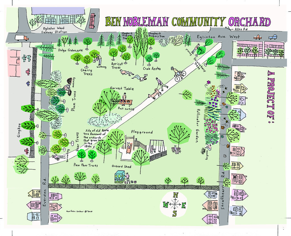 Self-Guided Community Orchard Tour - Ben Nobleman Park Community ...