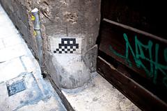 Saturday November 06 13:57 (JulianBleecker) Tags: barcelona iso200 spain europe spaceinvaders 1m aperturepriority 24mmf14 centerweightedaverage nikond700 secatf14 2017880