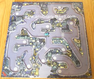 magnetic game board