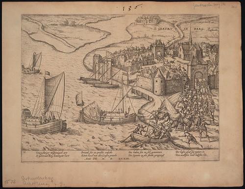 Geertruidenberg durch die Geusen entsetzt (c 1573)
