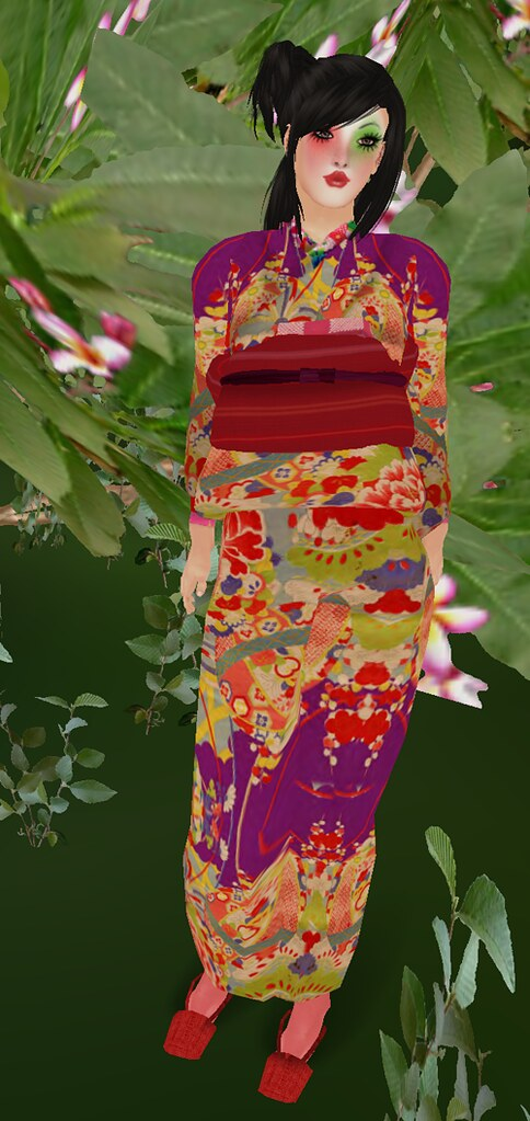 Mango Mango!MPDoll Freckles + Lucky Board!][AV][kimono retoro red
