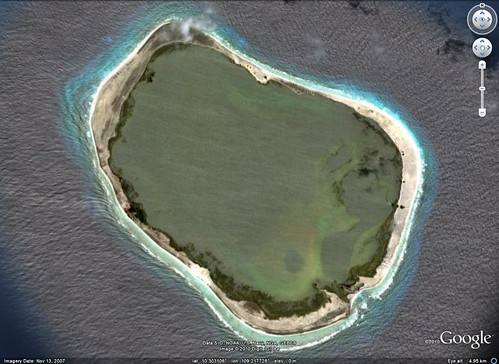 Clipperton Island - DigitalGlobe from Google Earth