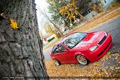 Greg's GLI (Dshah00) Tags: red fall colors leaves vw volkswagen nikon jetta gli nikkor shah d300 dipen 1755f28 dipenshah
