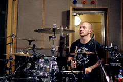 My Chemical Romance - drummer (Rodrico) Tags: session maidavale mychemicalromance gerardway bbcradio1 raytoro franklero mikleyway
