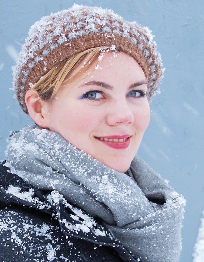 estella in the snow-3