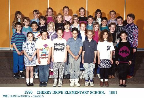 5th grade class 1990-91