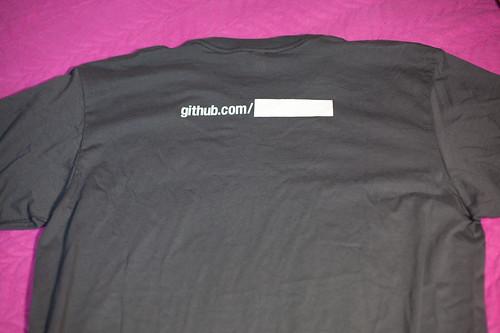GitHub 티셔츠