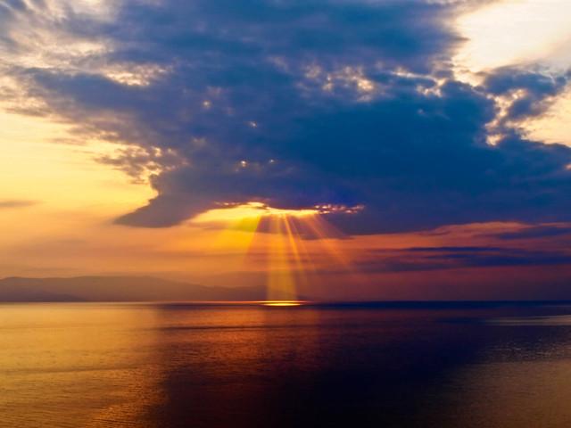 закат на Карулье