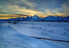 Winter At The Cunningham Ranch (Jerry T Patterson) Tags: camping winter mountain snow clouds outdoors skiing hiking parks crosscountry patterson wyoming rv tetons ynp tnp