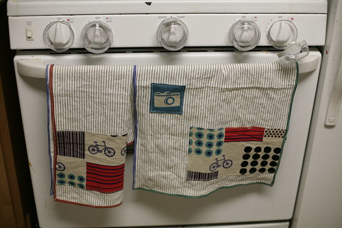 Linen hand towels for Dad