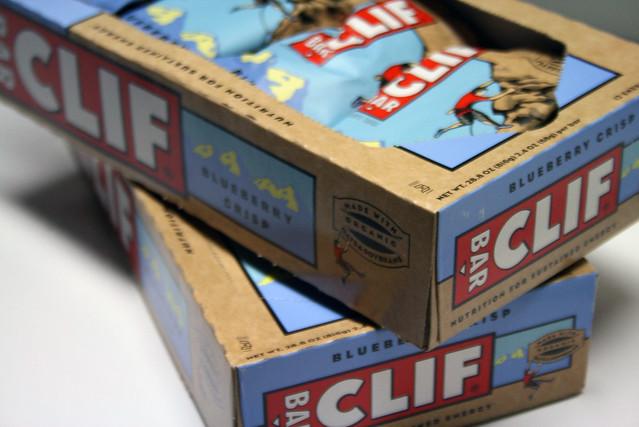 Blueberry Crisp Clif Bars