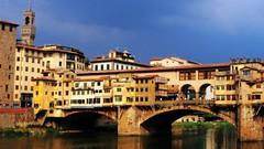 Ponte Vecchio (Carl Campbell) Tags: city bridge italy river florence europe