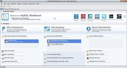 WorkspaceMySQLWB