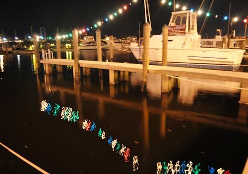 Christmas Lights at Laishley Marina, Punta Gorda, Fla.