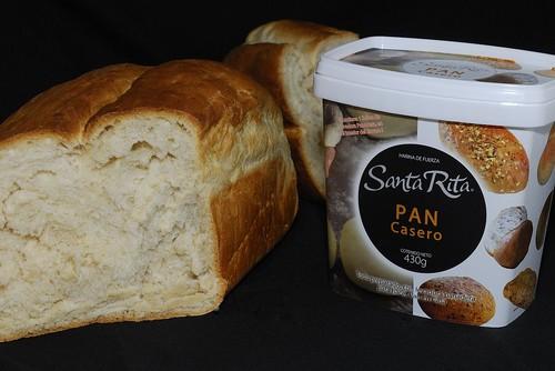 Pan casero (harina Santa Rita)