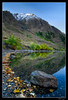 A Little Corner of Convict Lake (jeandayphotography.com) Tags: california ca trees lake mountains fall water colors leaves forest sunrise reflections october rocks mammothlakes sierranevada 2010 convictlake mhw jday easternsierranevada jeanday mountainhighworkshops