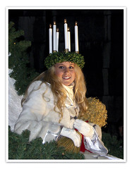 13th DEC | Saint Lucy (Toni Kaarttinen) Tags: santa christmas xmas winter woman holiday girl saint feast finland season lucy helsinki candles december advent cathedral celebration yule lucia crown tradition martyr bundle santalucia holidayseason sheaf saintlucia saintlucy saintlucysday porecession